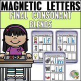 Final Consonant Blends Magnetic Letter Activities