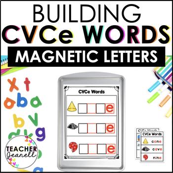 CVCe Magnetic Letter Center/Magic e Magnetic Letter Center