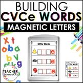 CVCe Magnetic Letter Center/Magic e Magnetic Letter Activities
