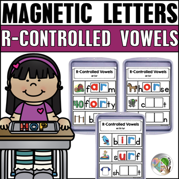 R-Controlled Vowels Magnetic Letter Center