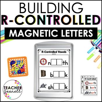 R-Controlled Vowels Magnetic Letter Center