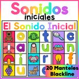 Magnetic Letter Center - Spanish