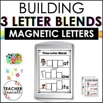Trigraphs 3 Letter Blends Magnetic Letter Center