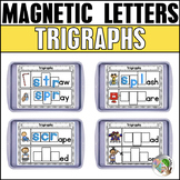 Trigraphs 3 Letter Blends Magnetic Letter Activities