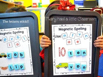 Magnetic Letter Center
