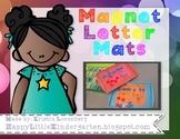 Magnetic Letter Mats - Letter Identification Activity