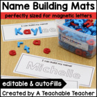 Name Practice | Magnetic Letters