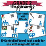 R-Controlled Vowels Task Cards with QR Codes for self checking