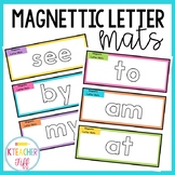 Magnetic Letter Sight Word Mats