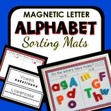 Magnetic Letter Sorting Mats for Preschool and Kindergarten