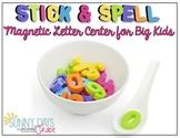 Magnetic Letter Spelling Center