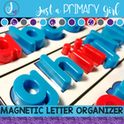 Magnetic Letter Template