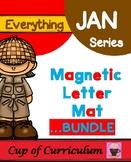 Magnetic Letter Template BUNDLE