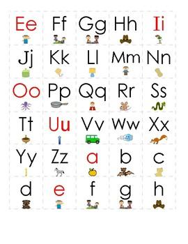 Magnetic Letter Tiles for Beginning Learners