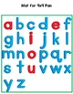 Magnetic Letter Tray Mats