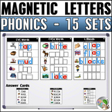 Magnetic Letters (15 Sets) Bundle 1
