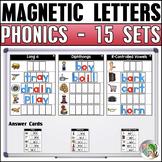 Magnetic Letter Activities (15 Sets) Bundle 2