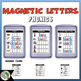 Magnetic Letter Activities (15 Sets) Bundle 2