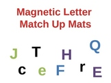 Magnetic Letters Alphabet Match Up mats