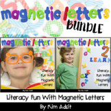 Magnetic Letters Super Bundle - Literacy Fun with Magnetic Letters by Kim Adsit