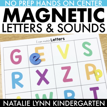 Magnetic Letters and Letter Sounds