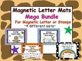 Magnetic Letters and Stamps Mega Bundle