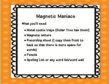 Magnetic Maniacs!