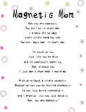 Magnetic Mom Mothers Day Poem