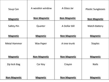 Magnetic/Non Magnetic Sort