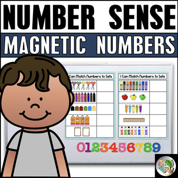 Counting 1-10 Magnetic Number Center - Free
