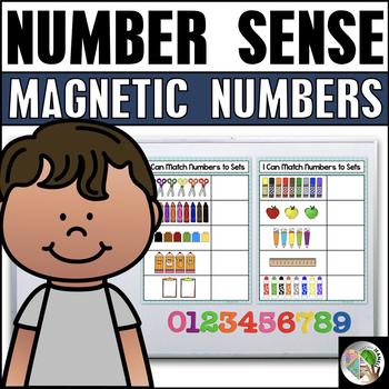 Number Sense 1-10 Magnetic Number Center Freebie
