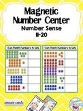 Number Sense 11-20 Magnetic Number Center