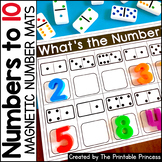 Magnetic Number Mats {Kindergarten Math: Numbers to 10}