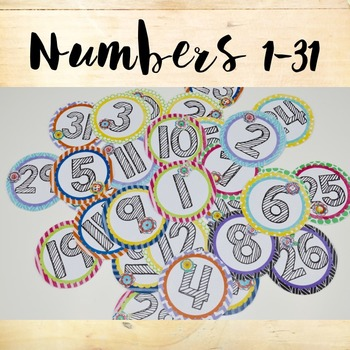 Magnetic Numbers 1-31