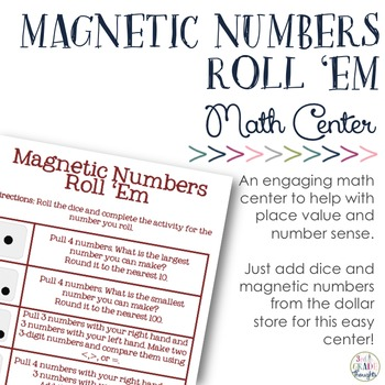 Magnetic Numbers Roll 'Em