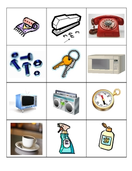 Magnetic Objects Picture Sort