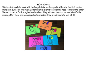 Magnetic Phonics Cards