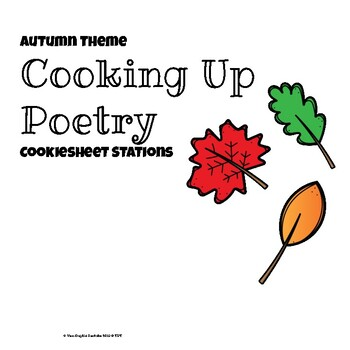 Cooking Up Poetry: Magnetic Cookiesheet Stations Autumn Theme