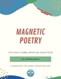 Magnetic Poetry Style Sentence Builders: Food
