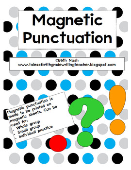 Magnetic Punctuation