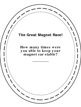 Magnetic Race Track Activity