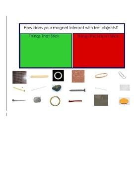 Magnet Science SMART notebook