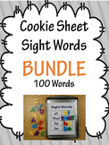 Cookie Sheet Magnetic Sight Words Bundle Fry Words 1 2 3 & 4