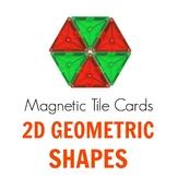 Magnetic Tiles Idea Cards: 2D Geometric Shapes