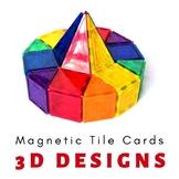 Magnetic Tiles Idea Cards: 3D Creative Designs
