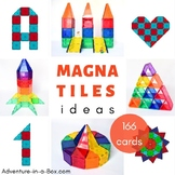 Magnetic Tiles Idea Cards: BIG BUILDING BUNDLE