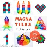 Magnetic Tiles Idea Cards: BIG BUILDING BUNDLE