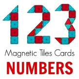 Magnetic Tiles Idea Cards: Numbers 0-9