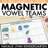 Magnetic Vowel Teams Literacy Center