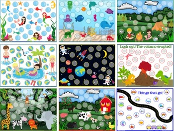 Magnetic Wand & Chips Token Boards {All Year Round+more}